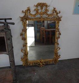 Ornate Golden Mirror