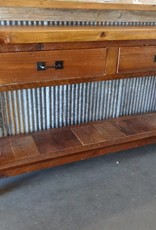 Barn wood Console with Drawers