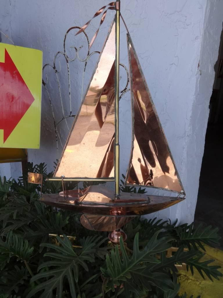 Sailboat weather vain