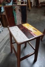 Retro Teak Bar Chair