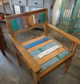 Deep Teak arm chair