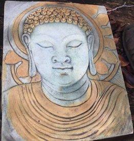 Full Buddha Face Plaque