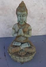 Large Praying Buddha w/ fancy base