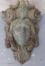 Woman Face plaque