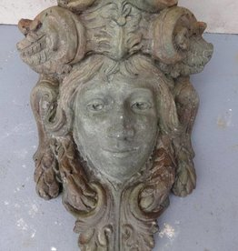 Woman Face plaque