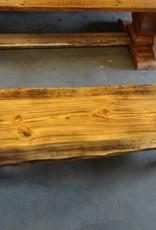 Live Edge Pine Bench