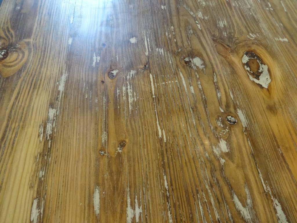 10' Douglas Fur Distressed Dining Table