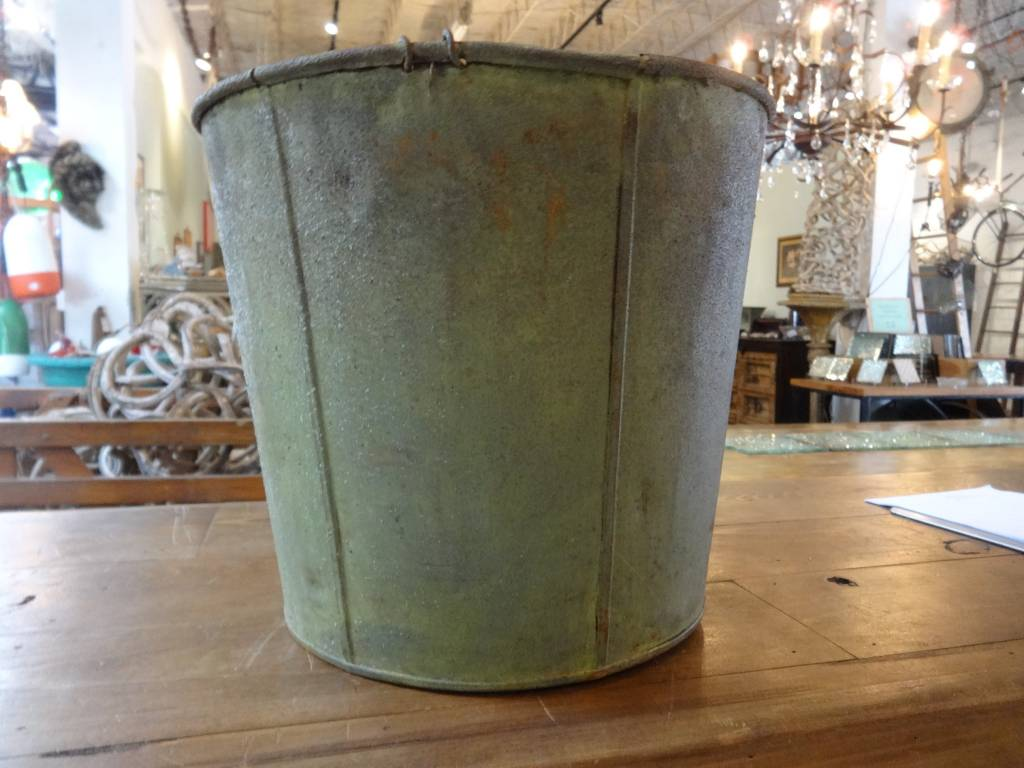 Vintage Metal Bucket