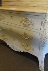 Antique Shabby dresser w/Marble Top