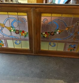 """Stained Glass Panel 32"""" x 62"""""""