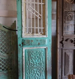 Aqua Iron Egyptian Door set