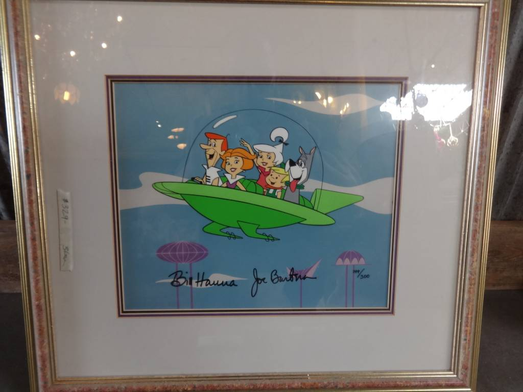 The Jetsons Signed Cel Painting