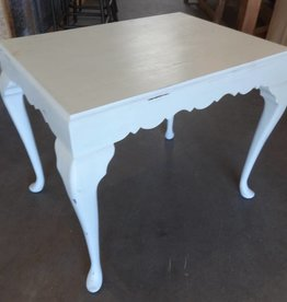 Light Blue Shabby End Table