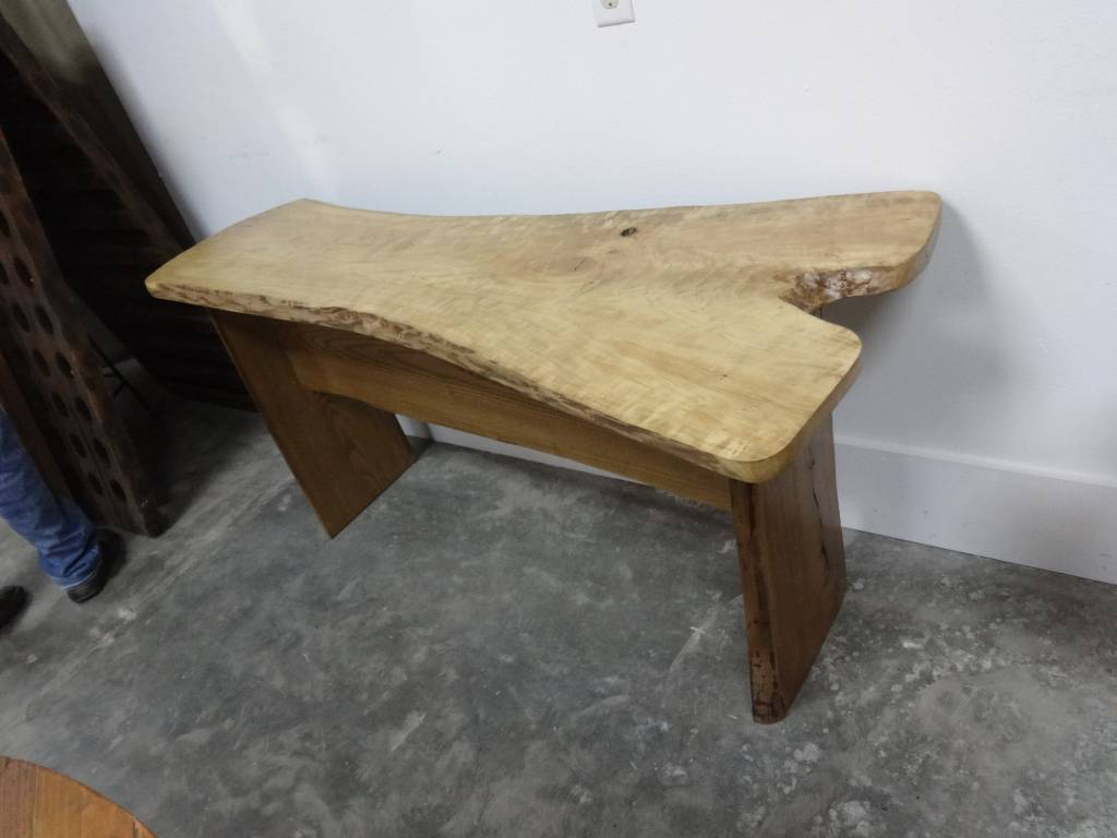 Live Edge Console Table 2
