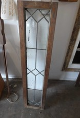 Rectangular Leaded Glass Panel
