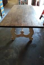 Reclaimed Church wood table