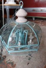 Turqoise 6 Light Chandelier w/ Stone
