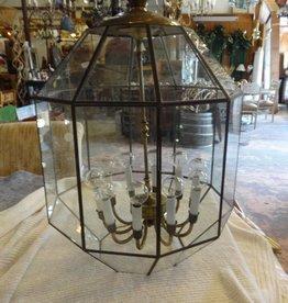 30 Glass Panel 10 Light Chandelier