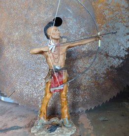 Indian Shooting Arrow Sculpture