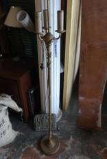 Vintage 3 Light Brass Floor Lamp