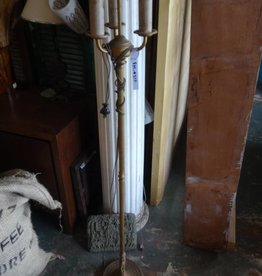 Vintage 3 Light Brass Floor Lamp
