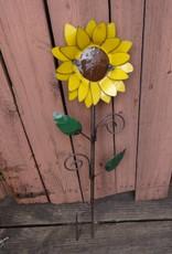 Tin Medium Sunflower Stake