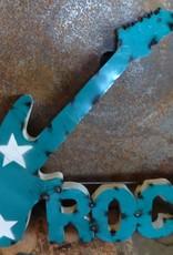 Rock Guitar Tin Sign 24x30
