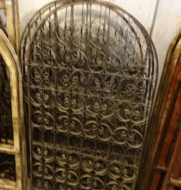 Arched Ornate Tin and Steel Panel 59x33