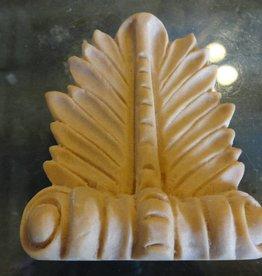 Resin Carved Rosette