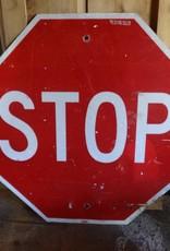 Metal Stop Sign 30x30
