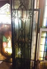Glass and Iron Ornate Door Insert 80x20