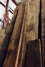 """Oak and Poplar 1"""" Rough Sawn Flooring"""