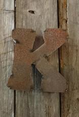 """5"""" Tin Letter K"""