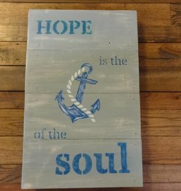 Nautical Hand Painted Sign
