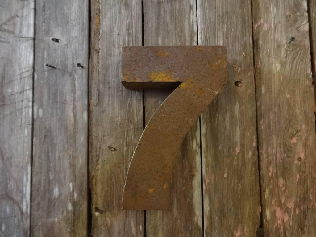 """10"""" Tin Number 7"""