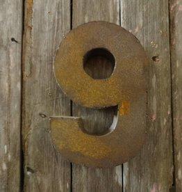 """10"""" Tin Number 9"""
