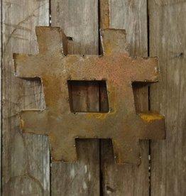 """10"""" Tin # Symbol"""