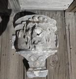 Antique Zinc Lion Face Downspout