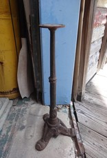 "Iron Tri Leg Side Table Base 23"""