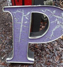 Channel Letter P