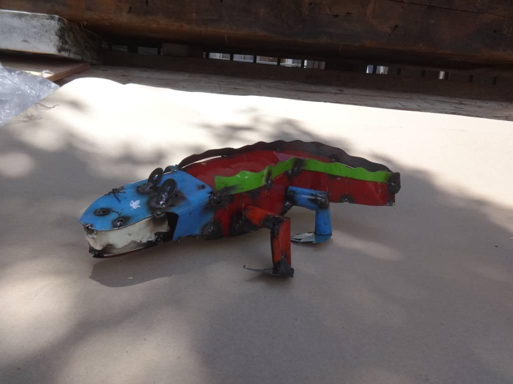 Tin Mini Alligator 3.5x16