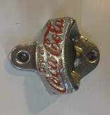 Coke a Cola Bottle opener Silver
