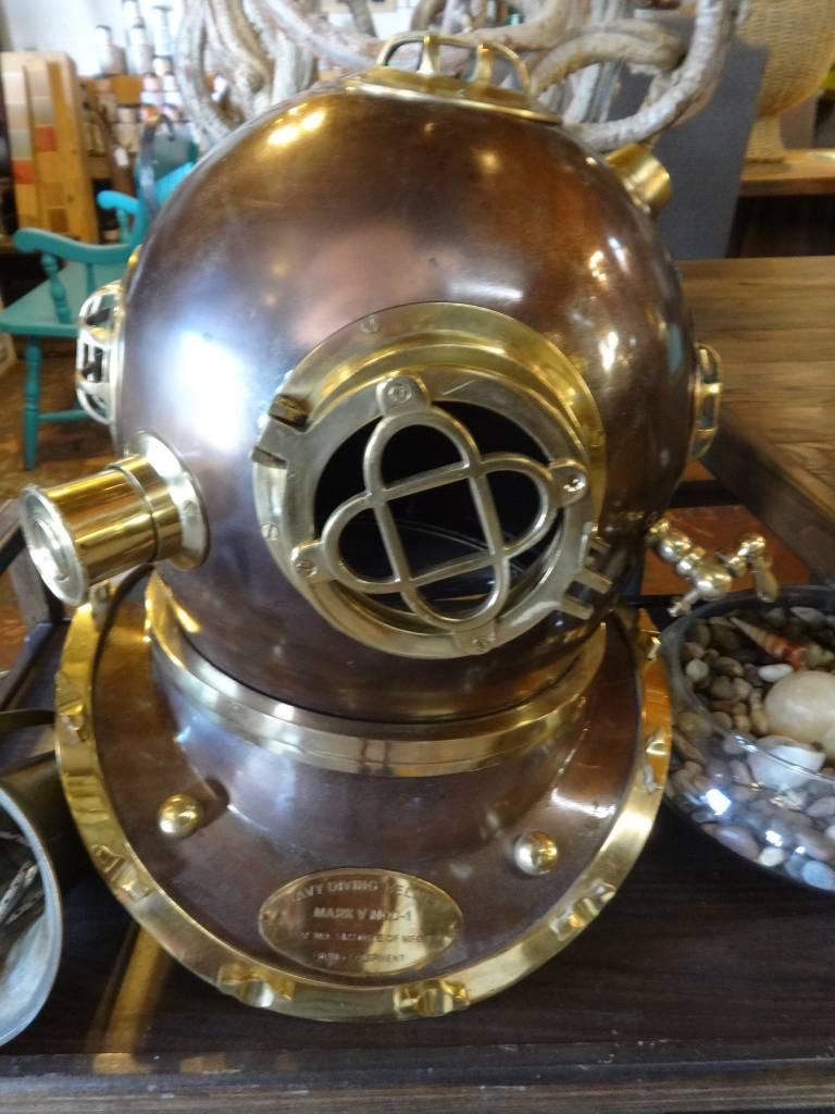 Navy Diving Helmet Mark Mod Vintage Furniture Warehouse Sarasota Fl