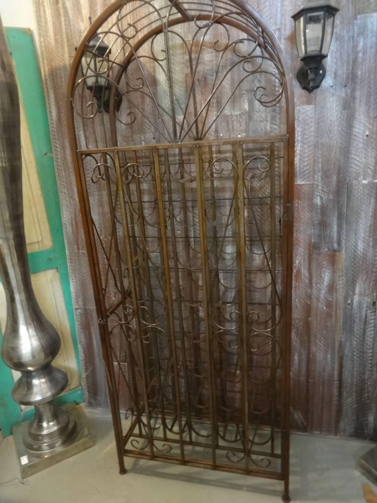 Wire Wine Rack Cabinet