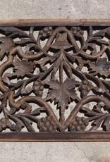 Teak Carved Panel B