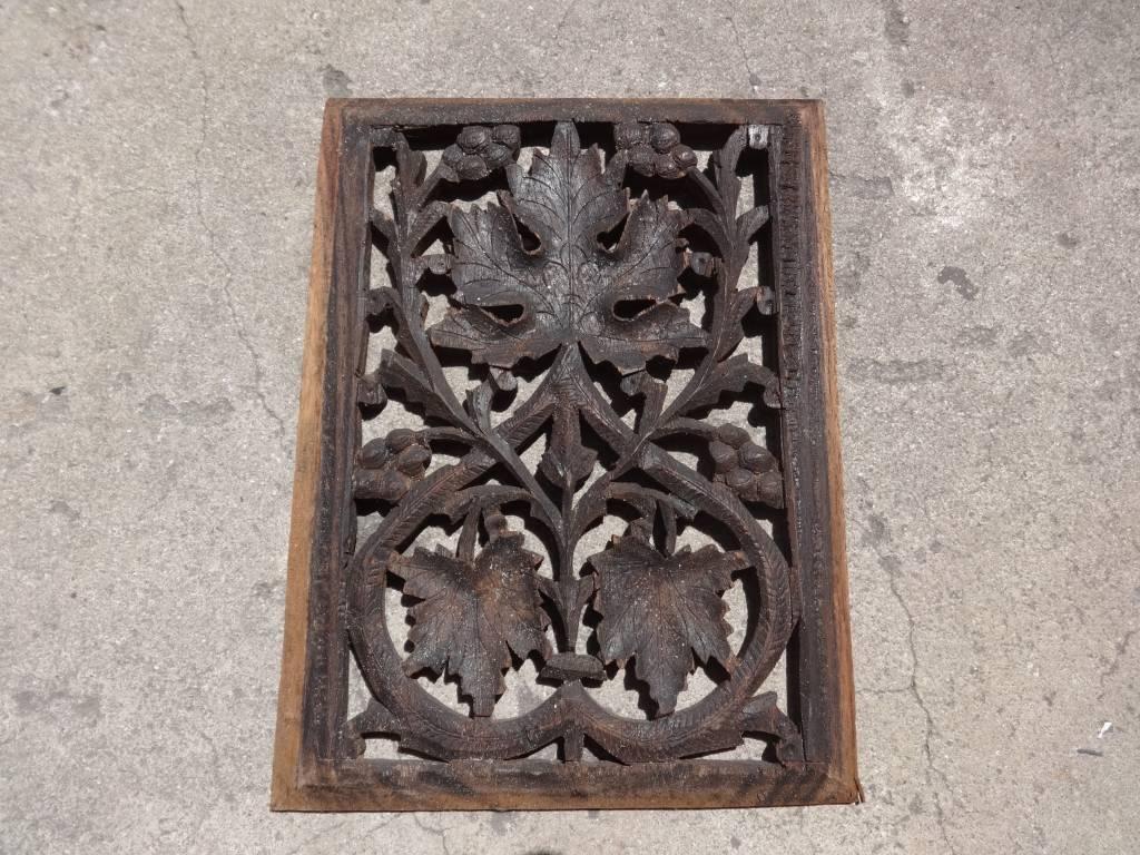 Teak Carved Panel C