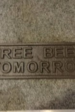 Free Beer Plaque