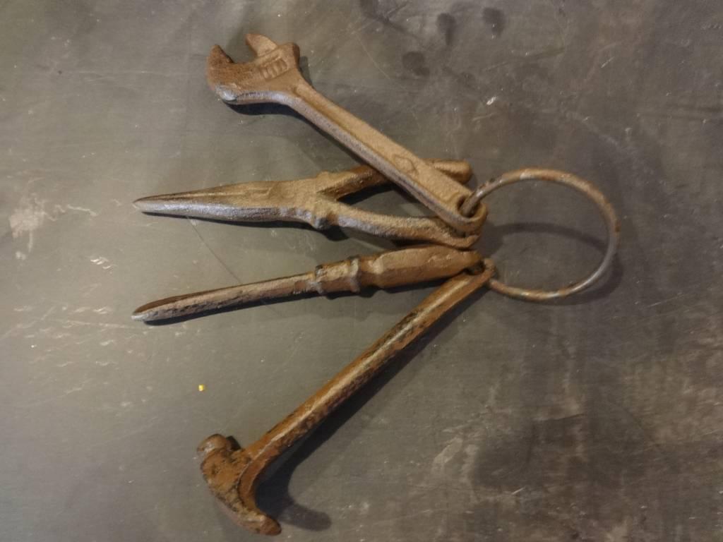 tool iron key  set