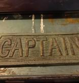Captain Iron Plaque