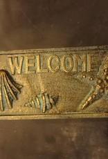 Welcome Iron Plaque